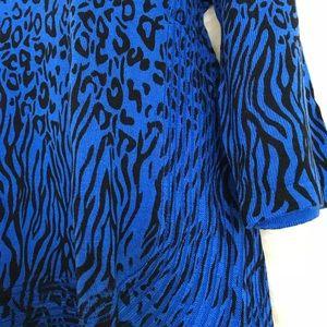 Dana Buchman Tops - Dana Buchman Leopard Print Sweater